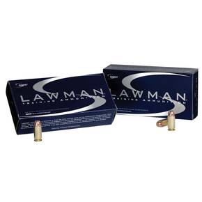 CCI Lawman Handgun Ammunition .45 GAP 200 gr TMJ 990 fps 50ct