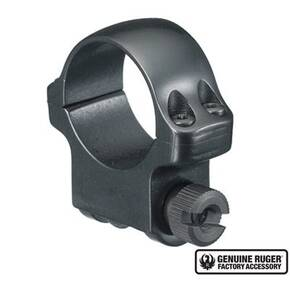 "Ruger Steel Scope Ring - Single (4B) 1"" Medium .937"" Height - Blued"