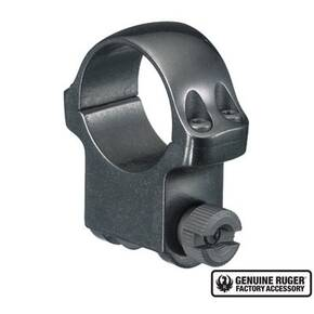 "Ruger Steel Scope Ring - Single (5B) 1"" High 1.062"" Height - Blued"