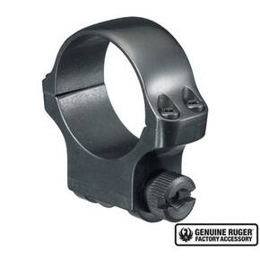 "Ruger Steel Scope Ring- Single (4B30) 30mm Medium .937"" Height - Blued"