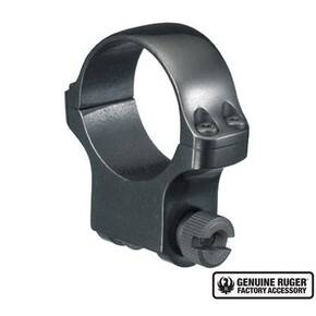 "Ruger Steel Scope Ring - Single (5B30) 30mm High 1.062"" Height- Blued"