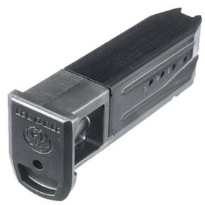 Ruger Handgun Magazine for SR9 9mm Luger 10rds Blued Steel