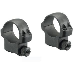 "Ruger M77 2-Piece Steel Scope Rings 4B/5B 1"" Medium - Matte Blued"