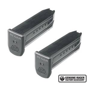 Ruger SR9 SR9C 9E Handgun Magazine 9x19mm Blued Steel 17/rd (Value 2-pack)