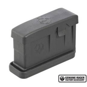 Ruger AI-Style Polymer Magazine for Gunsite Scout Rifle .308 Win 3 rds Black