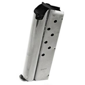Ruger Officer Style SR1911 Stainless Steel Magazine  9mm Luger 7/rd