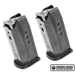 Ruger Security-9 Compact Magazine 9mm Black Oxide Steel 10/rd 2/pk