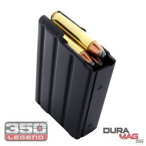 Duramag SS American Rifle Series 350 Legend AR-556 Magazine 5/rd
