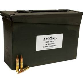 Summit Rifle Ammunition .300 AAC Blackout 147 gr FMJ 500ct