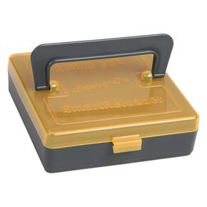 SmartReloader Ammo Box 196/rds Orange with Carry Handle - Rimfire
