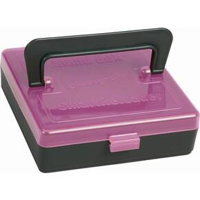SmartReloader Ammo Box 196/rds Pink with Carry Handle - Rimfire