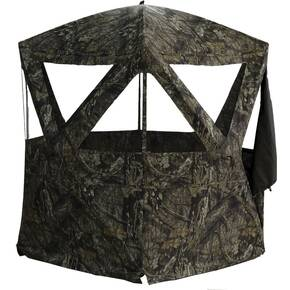 Rhino Blinds R-300 Mossy Oak Break Up Country Blind - 3-Person