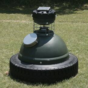 Gamekeeper Capsule Game Feeder with Tireless Base CAP-250 250 lb.