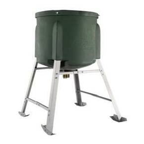 Gamekeeper Capsule Feeder 400 lb Feeder with Legs