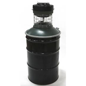 Gamekeeper 55 Gallon Barrel Game Feeder CAP-BAR