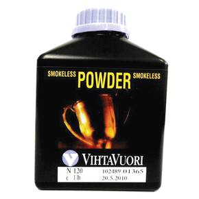 VihtaVouri N120 Smokeless Rifle Powder 1 lbs