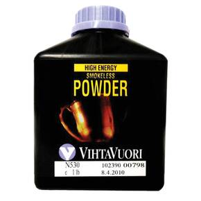 VihtaVouri N530 High Energy Smokeless Rifle Powder 1 lbs