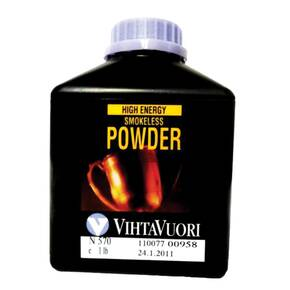 VihtaVouri N570 High Energy Smokeless Rifle Powder 1 lbs