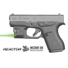 Viridian REACTOR 5 Green Laser Sight for Glock 43 w/ECR w/Holster