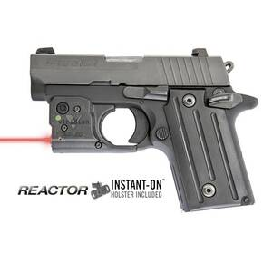 Viridian Reactor 5 Red Laser Sight for Sig P238/938 with ECR & Hybrid Belt Holster