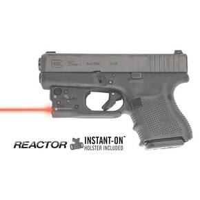 Viridian Reactor 5 Red Laser Sight for Glock .26/.27 with ECR & Hybrid Belt Holster