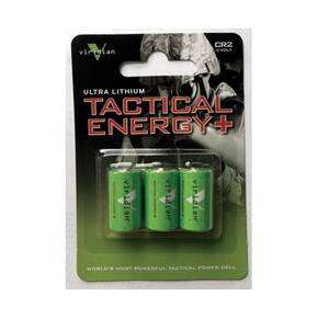 Viridian Tactical Energy Ultra Lithium Batteries - 3 Pack