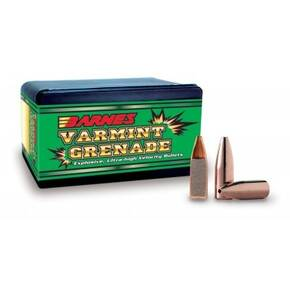 "Barnes Varmint Grenade Rifle Bullets 6mm .243"" 62 gr VGFB 100/ct"
