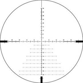 Vortex Diamondback Tactical Rifle Scope - 4-16x44mm FFP EBR-2C MRAD Reticle Black Matte