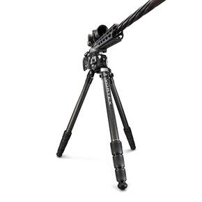 "Vortex Radian Carbon Fiber Tripod with Leveling Head - 7.8"" - 64.3"" H"