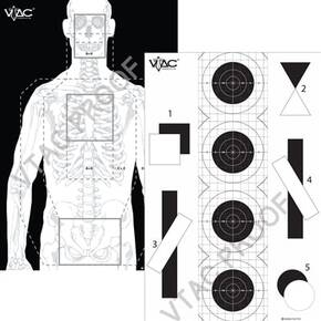 VIKING VTAC DOUBLE SIDED TACTICAL TARGET