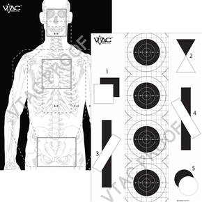 VIKING VTAC DOUBLE SIDED TACTICAL TARGET (100)