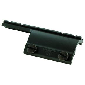Weaver Shotgun Converta-Mount See-Under Shotgun Bracket for Converta-Mount Side Scope Base