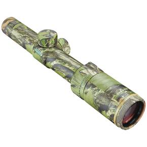 "Weaver Kaspa Hunting Series Rifle Scopes - 1-4X24mm SH/MZ B-X Reticle 109-27' FOV 4.0-3.54"" ER Mossy Oak Infinity"