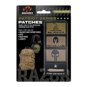 "Walker's Patch Kit ""Come and Take It"" Pack- 4 assorted Patches"