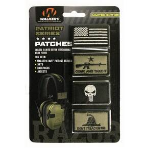 "Walker's Patch Kit ""American Flag"" Pack- 4 assorted Patches"