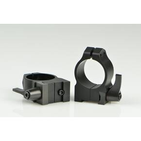 "Warne Maxima QD Scope Rings with Grooved Receiver - 1"", Medium, Matte CZ 527"