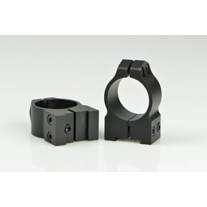 "Warne Maxima Fixed (16mm Dovetail) Scope Rings with Grooved Receiver Fits CZ527 1"" Medium, Matte"