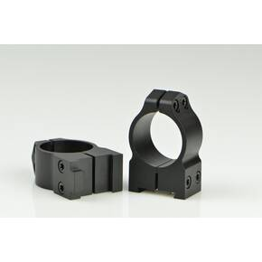 "Warne Maxima Fixed (19mm Dovetail) Scope Rings with Grooved Receiver Fits CZ550 1"" Medium, Matte"