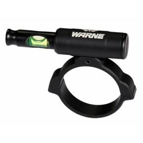 Warne Universal Scope Anti-Cant Level Green Bubble 34mm - Matte Black