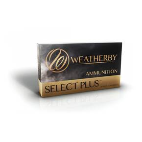 Weatherby Select Plus Rifle Ammunition .340 WBY 225gr TTSX 2970 fps 20/ct