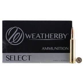 Weatherby Rifle Ammunition .270 Wby Mag 130 gr SPT 3375 fps - 20/box