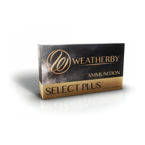 Weatherby Select Plus Rifle Ammunition 6.5-300 Wby Mag 140 gr SP 3395 fps 20/ct