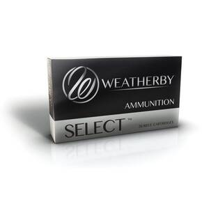 Weatherby Select Hornady Interlock Rifle Ammunition 6.5 Wby RPM 140gr SP 2975 fps 20/ct