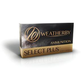 Weatherby Select Plus Nosler Partition Rifle Ammunition .257 Wby Mag 120gr NP 3305 fps 20/ct
