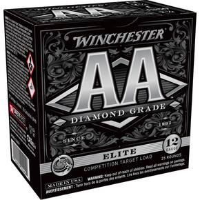 "Winchester AA Diamond Grade Shotshells 12 ga 2-3/4"" 1oz  1350 fps #7.5 25/ct"