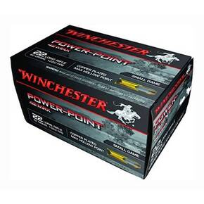 Winchester Powerpoint .22 LR 42 gr Lead 50/Box