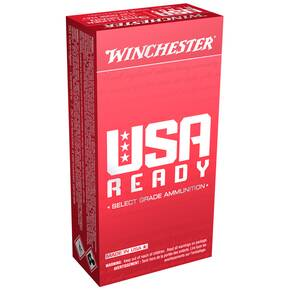 Winchester USA Ready Ammunition 9mm Luger 115 gr FMJ  1190 fps 50/ct