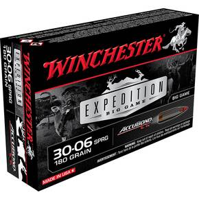 Winchester Expedition Big Game Rifle Ammunition .30-06 Sprg 180 gr AB 2750 fps 20/ct