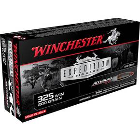 Winchester Expedition Big Game Rifle Ammunition .325 WSM 200 gr AB 2950 fps 20/ct