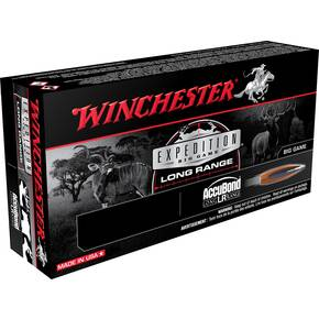 Winchester Expedition Big Game Long Range Rifle Ammunition 6.5 Creedmoor 142gr AB 2700 fps 20/ct